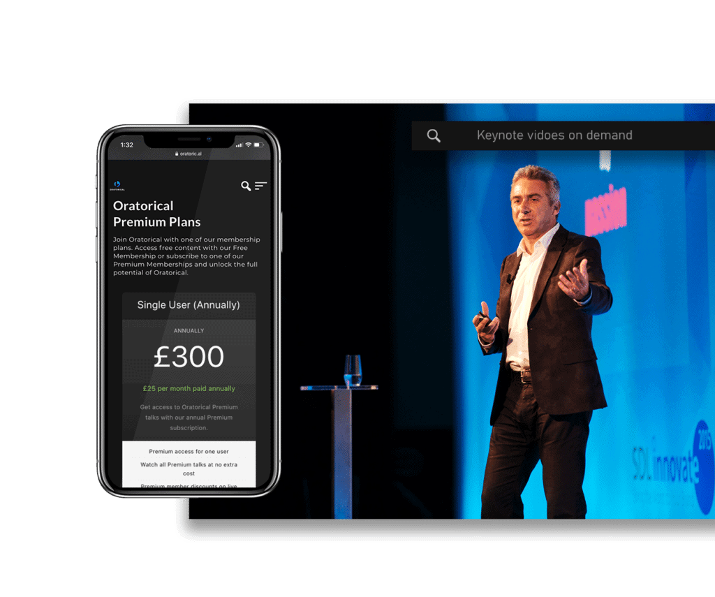 Rent talks for your own events